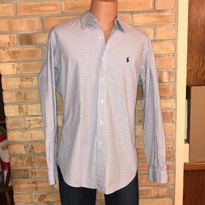 RALPH LAUREN POLO CLASSIC FIT DRESS SHIRT MENS L
